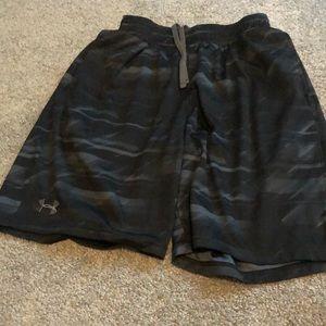 Men's Black Athletic Shorts